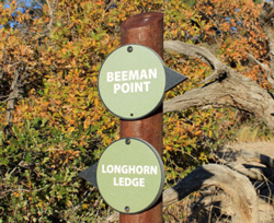 Beeman Point Sign