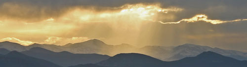 Mount Evans Sunset