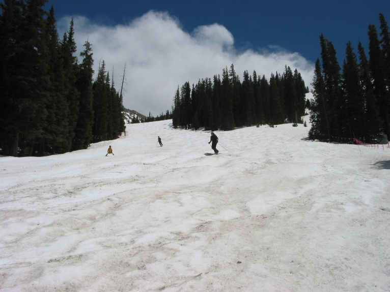Soft Late Spring Moguls on Ramrod