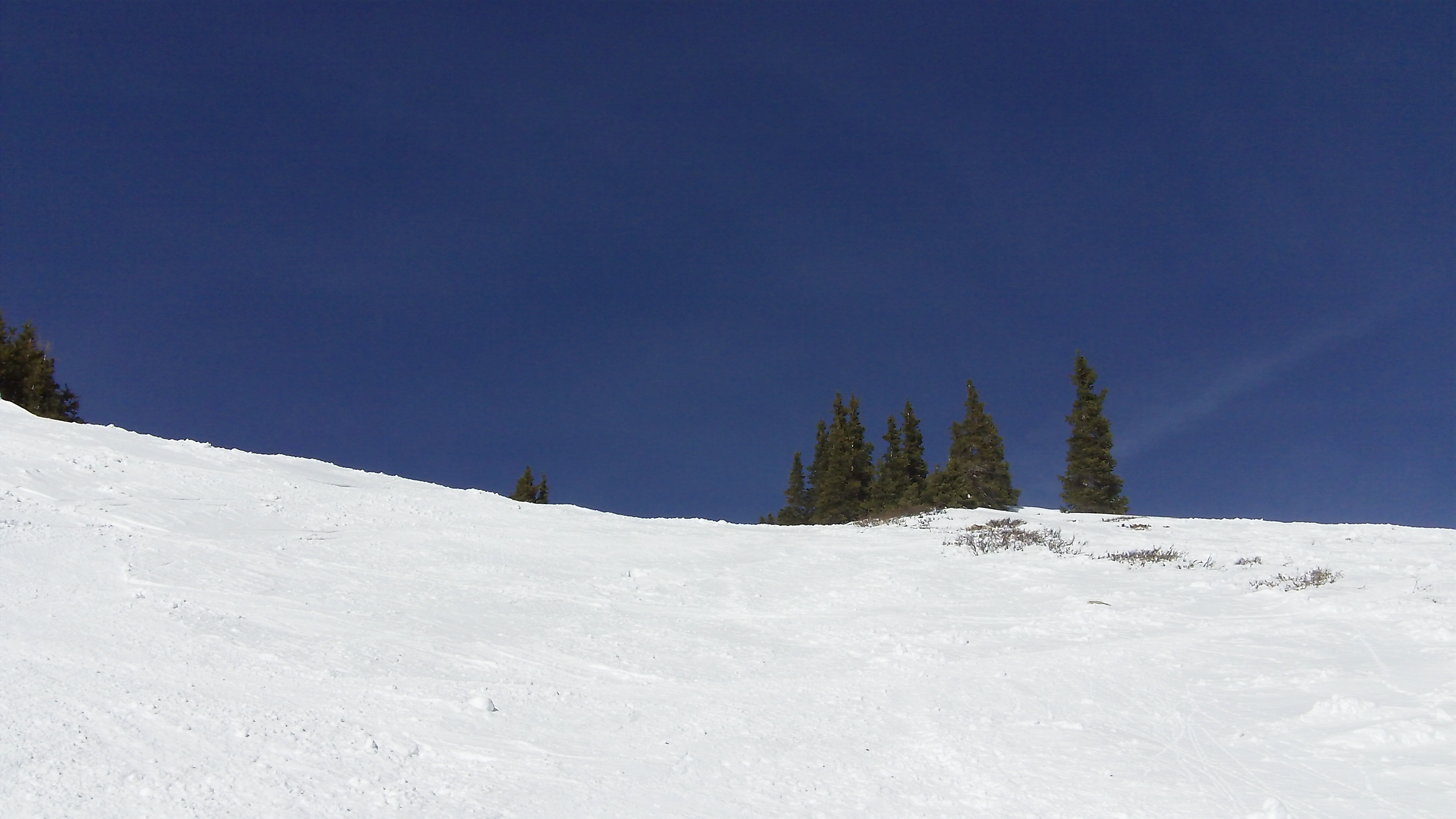 Looking up North Chutes again