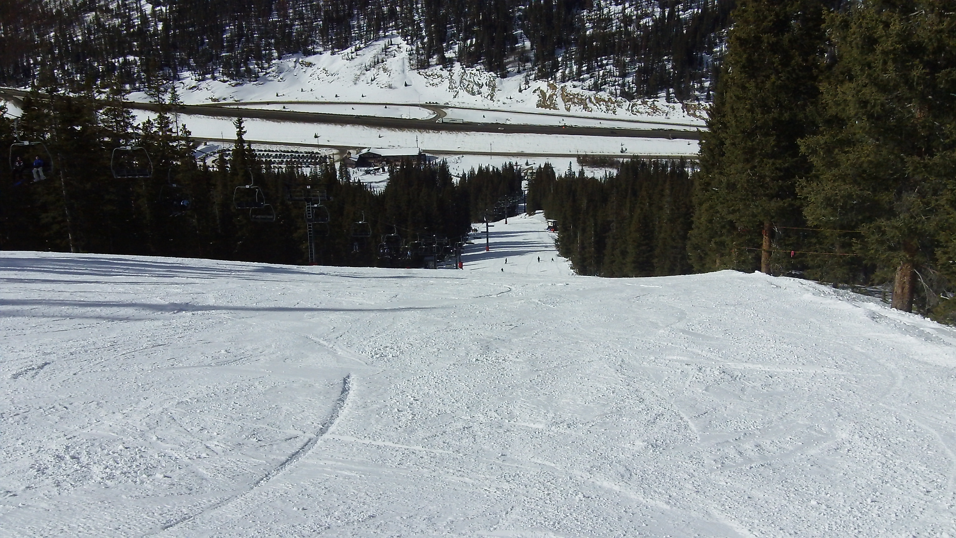 Switchback Ski Trail at Loveland Valley Ski Area
