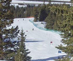 Twist Ski Run - Loveland Valley