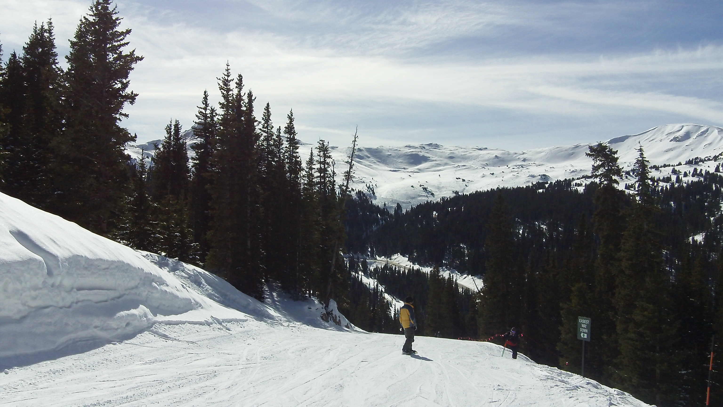 Photograph of the Zig Zag Ski Run