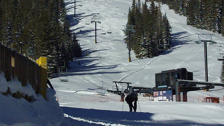 Raven Chairlift at Wolf Creek